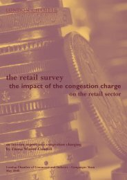 the retail survey - London Chamber of Commerce and Industry