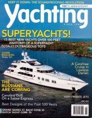 Yachting Magazine - Trinity Yachts