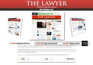 Online Display media pack - The Lawyer