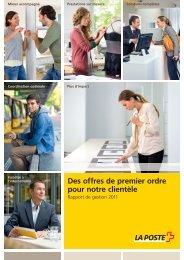 Rapport de gestion 2011Le lien est ouvert dans ... - La Poste Suisse