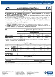 Produktinformation Nitril-Schutzhandschuhe BERNER Manu N