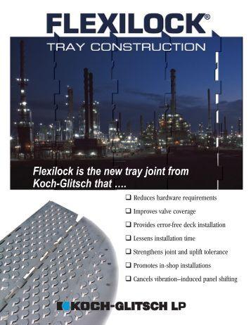 Tower internals hardware services koch glitsch for Koch glitsch