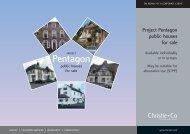 Project Pentagon public houses - Christie + Co Corporate