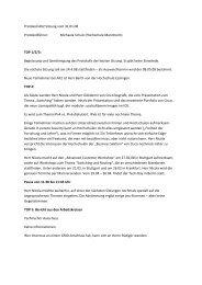 Protokoll AK2 Sitzung vom 31.01.08 Protokollführer ... - BelWü