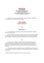 vyhláška č. 268/2009 Sb. o technických požadavcích na stavby