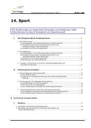 14. Sport - Diesterweg-Gymnasium