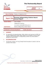 The Annual Report of Bromley Safeguarding Children Board.pdf