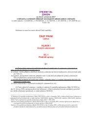 zákon č. 378/2007 Sb. o léčivech a o změnách některých ...