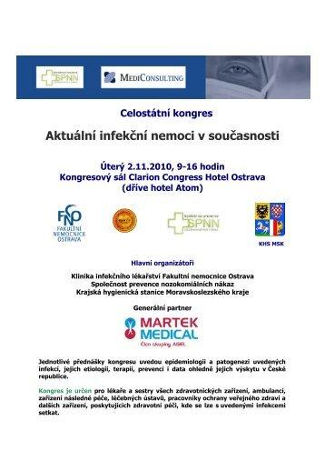 Aktuální infekční nemoci v současnosti - Fakultní nemocnice Ostrava