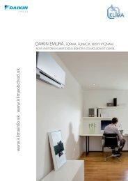 Daikin Emura katalóg 2010.pdf - KLIMA s.r.o.