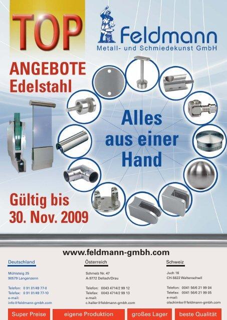 Edelstahl Geländer Pfosten mit Ankerplatte /& Endkappe ohne Halter höhe wählbar