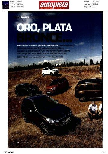 Revista de Prensa - Peugeot