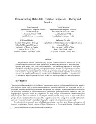 Reconstructing Reticulate Evolution in Species – Theory and Practice
