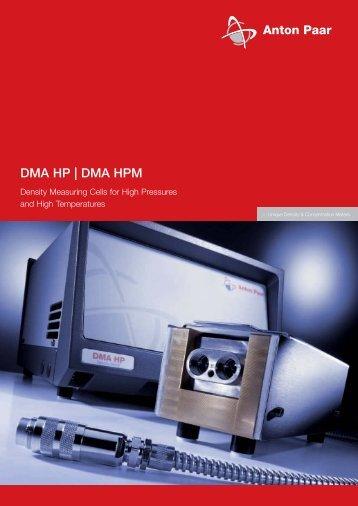 DMA HP | DMA HPM - MEP Instruments