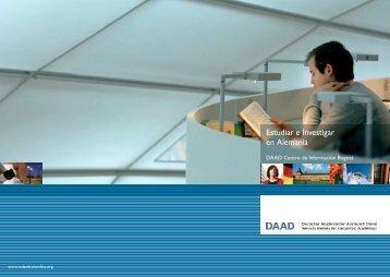Estudiar e Investigar en Alemania - Daad