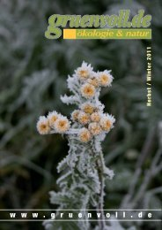 Magazin 2-2011 - Gruenvoll.de