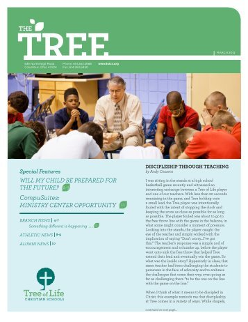 THE CompuSuites: - Tree of Life Christian Schools