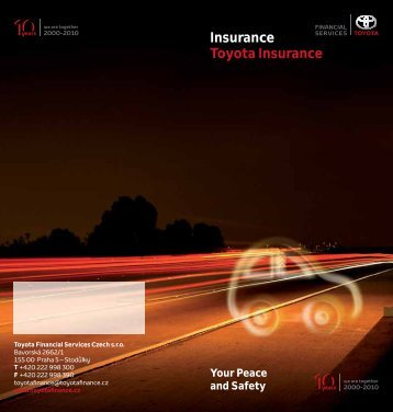 Insurance Toyota Insurance - Toyota Financial Services