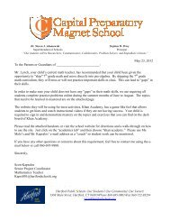Letter to parents about skipping 7th Grade Math going to Pre-Algebra