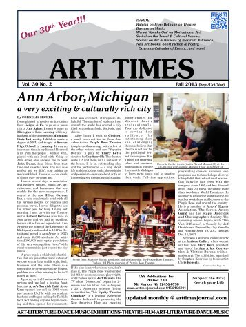 Ann Arbor,Michigan - Art Times