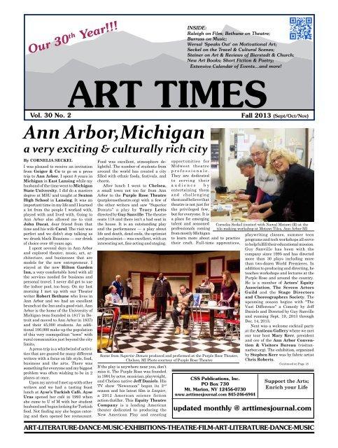 Ann Arbor,Michigan - Art Times