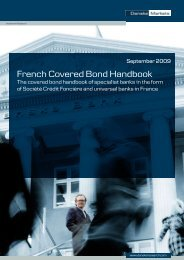 French Covered Bond Handbook 2nd edition - Danske Analyse ...