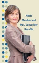 ABoR Member and MLS Subscriber Benefits - ABoR.com