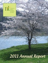 Download Annual Report 2011 now - Northern Tier Regional ...