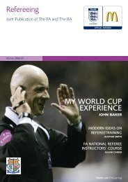 Issue 2 - Winter 2006-07 - The Football Association