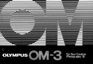 Olympus OM-3 For Your Creative Photography (B) 0984