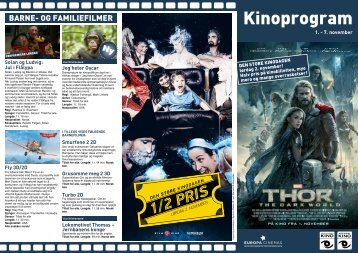 kilden kino program