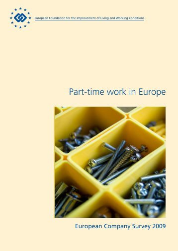 Part-time work in Europe - Eurofound - Europa