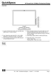 HP DreamColor LP2480zx Professional Display