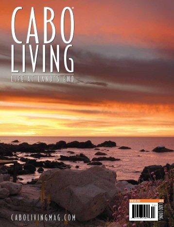 SNEAK PEEK - Cabo Living Magazine