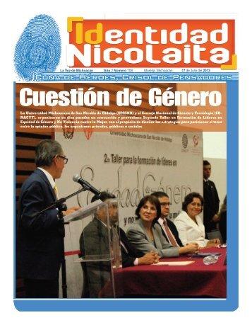 La Universidad Michoacana de San Nicolás de Hidalgo (UMSNH) y ...