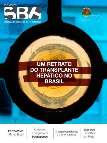 Boletim SBH Abril/2013 - Sociedade Brasileira de Hepatologia