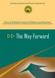 The Way Forward - Local Government Managers Australia