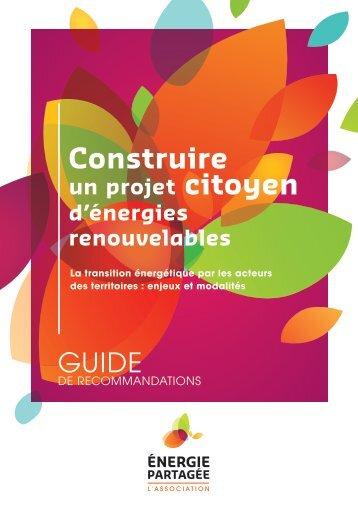 guide de recommandations - Energie Partagée