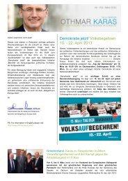 PDF herunterladen - Othmar Karas