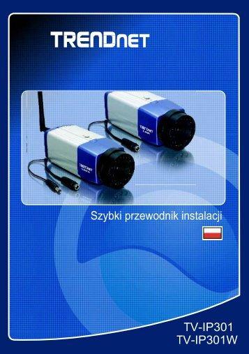 TV-IP301 - Kamery IP