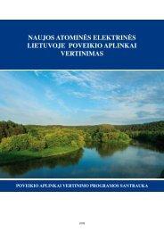 Poveikio aplinkai vertinimo programos santrauka - Visagino ...
