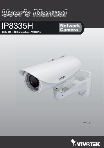 User's Manual - Kamery IP