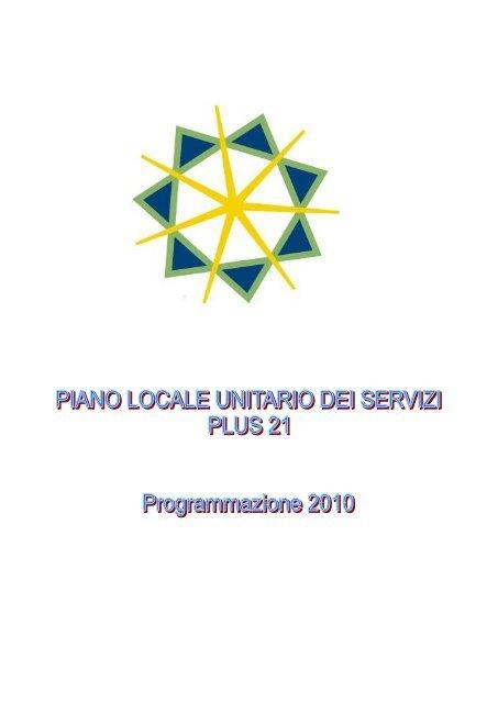 PLUS 21 anno 2010 - Aggiornamento - Sociale - Provincia di Cagliari
