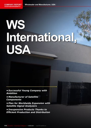 WS International, USA