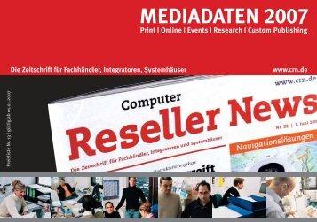 MEDIADATEN 2007 - CRN.de