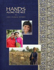 2004 ANNUAL REPORT - Hands Along The Nile