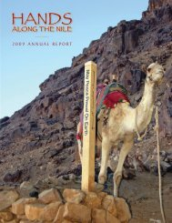 2009 ANNUAL REPORT - Hands Along The Nile