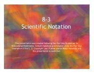 8-3 Scientific Notation - Mona Shores Blogs