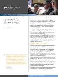 Case Study: Army National Guard Bureau - Lexmark