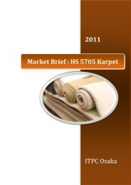 Market Brief : HS 5705 Karpet - ITPC Osaka